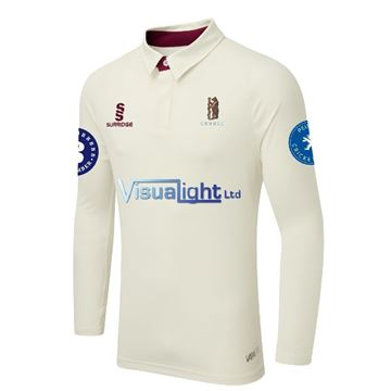 Imagen de Coventry and North Warwick CC tek long playing shirt