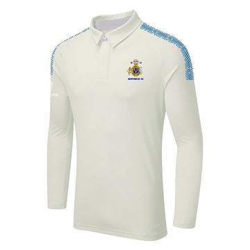 Imagen de Northwich Cricket Club Adult Dual Long Sleeve Cricket Shirt