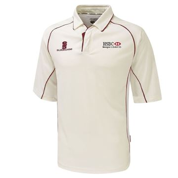 Picture of HSBC distirct premier 3/4 sleeve shirt