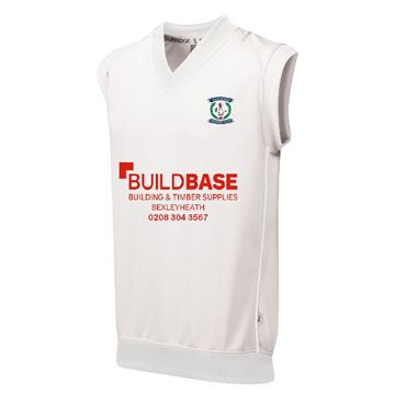 Afbeeldingen van Dartford CC Junior Curve Sleeveless Sweater