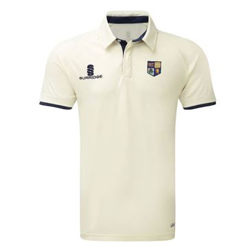 Picture of SOUTH SHORE CC ERGO SHORT SLEEVE CRICKET SHIRT NAVY