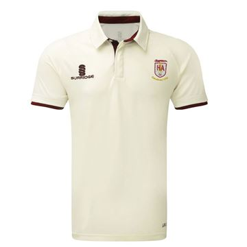 Picture of Hinckley Amateurs CC tek short sleeve playing shirt