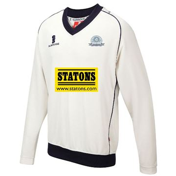 Bild von Totteridge Millhillians Cricket Club long sleeve sweater