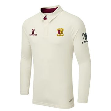 Bild von Bedworth CC teklong sleeve playing shirt