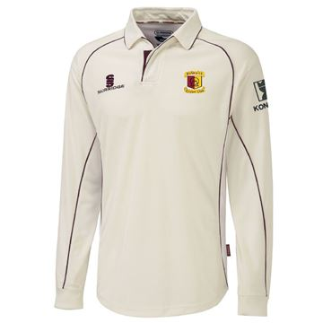 Bild von Bedworth CC premier long sleeve shirt