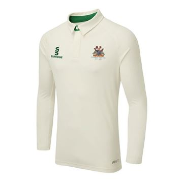 Bild von Clumber Park Cricket Club ls Tek shirt