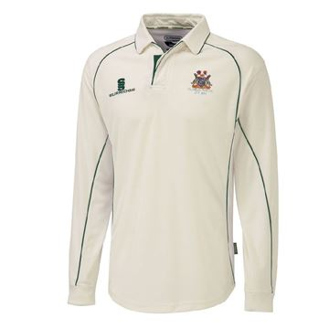 Bild von Clumber Park Cricket Club premier long sleeve shirt