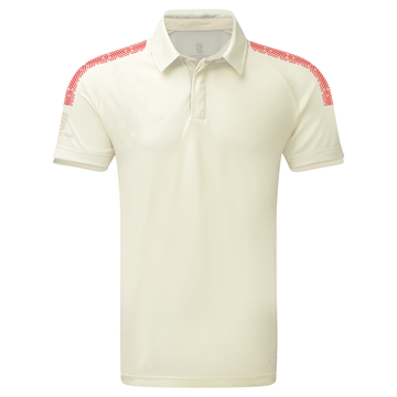 Picture of Dual Cricket Shirt - Short Sleeve : Red