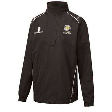 Picture of St Margaretsbury CC 1/4 Zip Rain Jacket Black