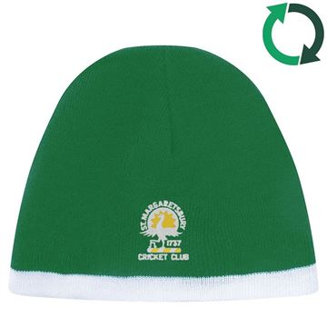 Picture of St Margaretsbury CC Beanie Cap - Forest