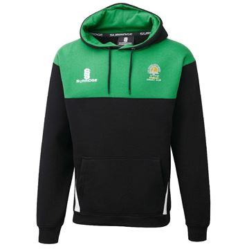 Picture of St Margaretsbury CC Blade Hoody Black/Emerald/White