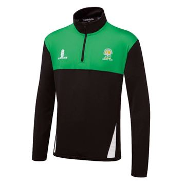Picture of St Margaretsbury CC Blade Performance Top Black/Emerald/White