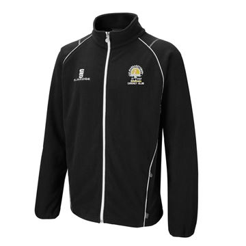 Picture of St Margaretsbury CC Full Zip Fleece Jacket Black