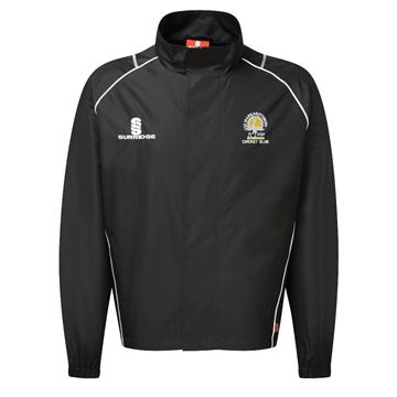 Image de St Margaretsbury CC Full Zip Rain Jacket Black