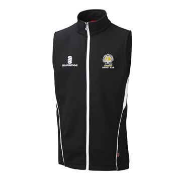 Picture of St Margaretsbury CC Softshell Gilet Black