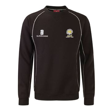 Picture of St Margaretsbury CC Sweat Shirt Black