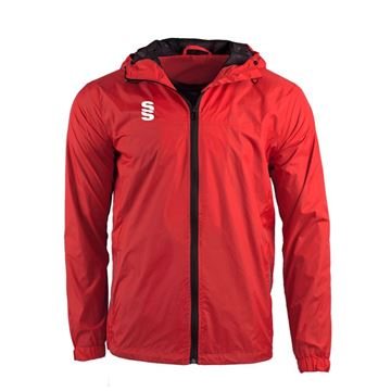Image de DUAL FULL ZIP TRAINING JACKET - RED