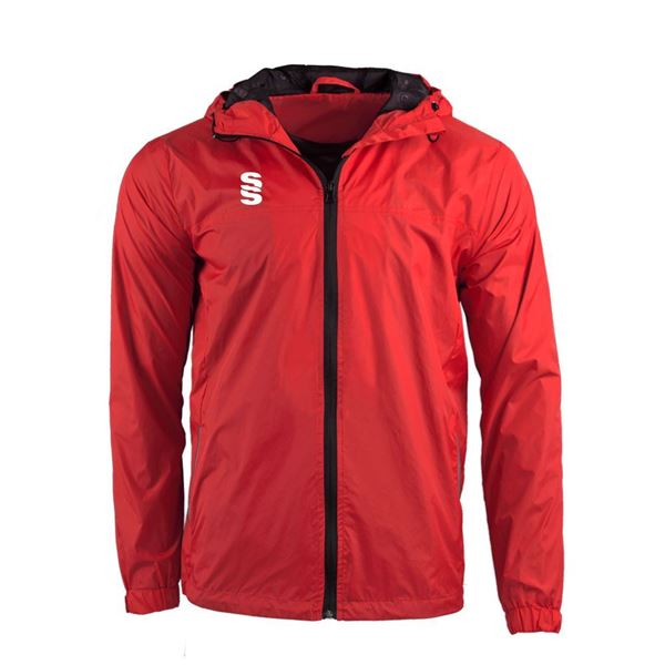 Bild von DUAL FULL ZIP TRAINING JACKET - RED