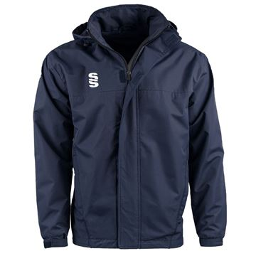 Afbeeldingen van DUAL FLEECE LINED JACKET - NAVY