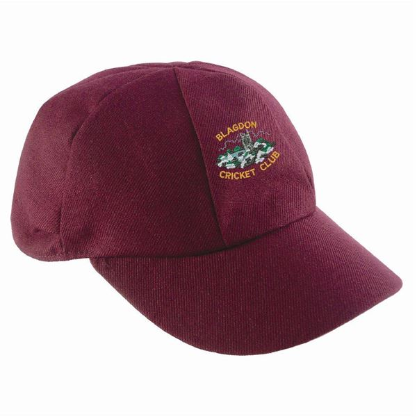 Picture of Blagdon CC English Playing Cap - Maroon