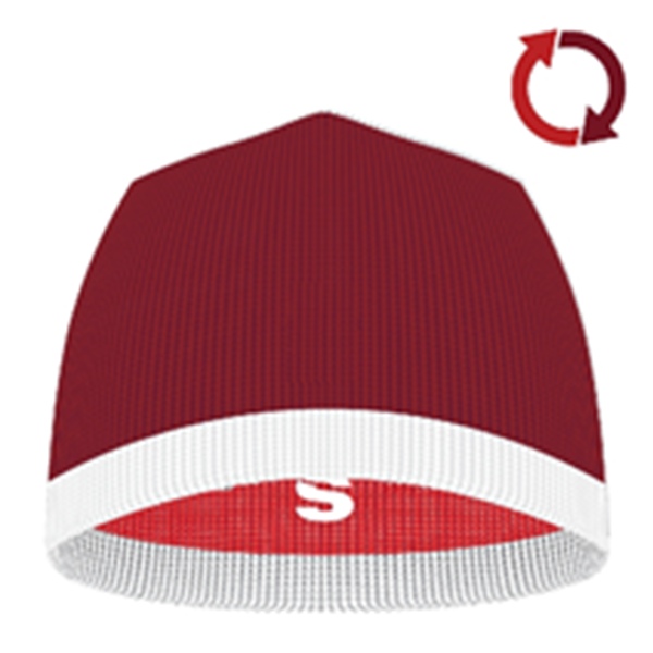 Image sur Reversible Beanie RED/MAROON