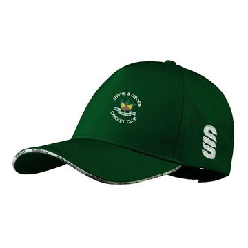 Bild von Hythe & Dibden CC Playing Baseball Cap - Green