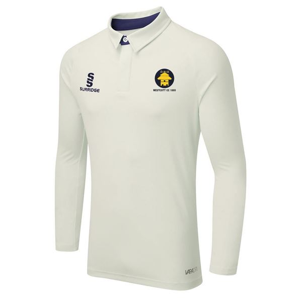 Picture of WESTCOTT CRICKET CLUB L/S CRICKET SHIRT