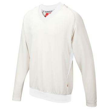 Image de Curve Long Sleeve  Sweater - White