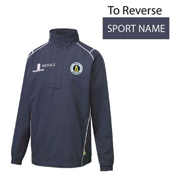 Picture of Brunel University 1/4 Zip Rain Jacket