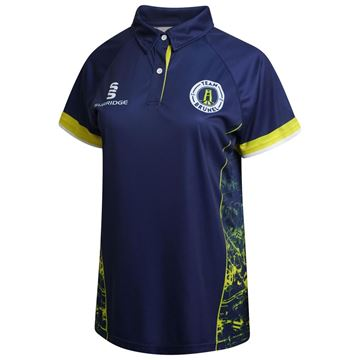 Imagen de Brunel University Women's S/S Cricket Shirt with Placket Collar