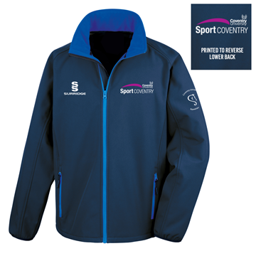 Picture of COVENTRY UNIVERSITY SOFTSHELL JACKET