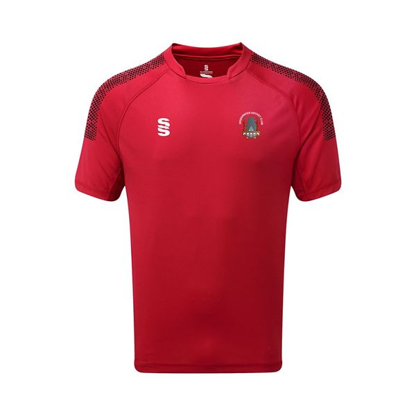 Picture of Bridgwater HC Match Shirt - Red/Black