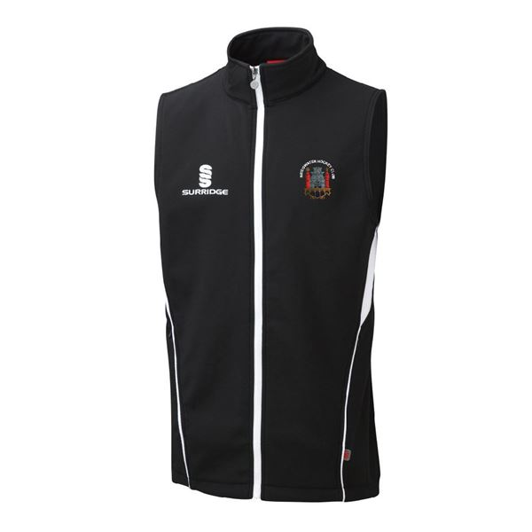 Picture of Bridgwater HC Softshell Gilet Black
