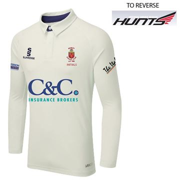 Afbeeldingen van Romiley Cricket Club Long Sleeved Cricked Shirt