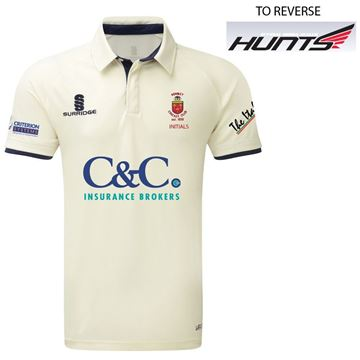 Afbeeldingen van Romiley Cricket Club Short Sleeved Cricket Shirt
