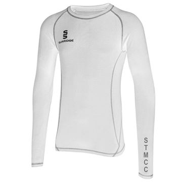 Picture of St Margaretsbury CC Premier Long Sleeve Sug - White
