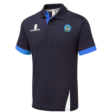Imagen de Clitheroe Wolves FC Blade Polo Navy/Royal/White
