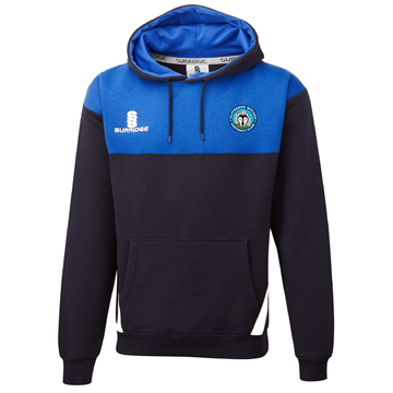 Picture of Clitheroe Wolves FC Blade Hoody Navy/Royal/White