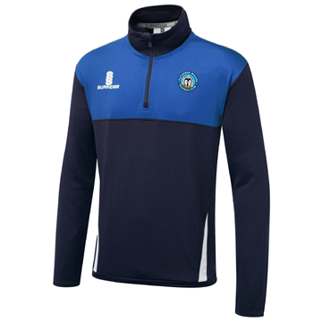 Imagen de Clitheroe Wolves FC Blade Performance Top Navy/Royal/White