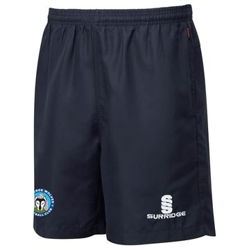 Picture of Clitheroe Wolves FC Ripstop Short Navy