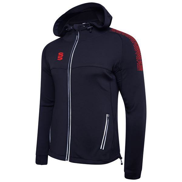 Picture of Dual Full Zip Hoody - Navy/Red