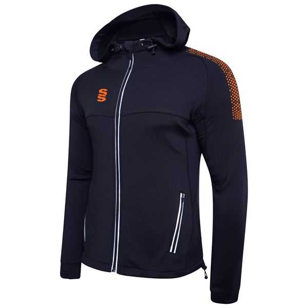 Image sur Dual Full Zip Hoody - Navy/Orange