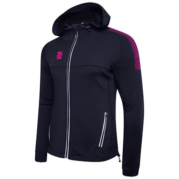 Picture of Dual Full Zip Hoody - Navy/Pink