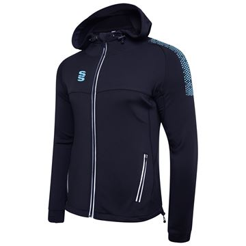 Picture of Dual Full Zip Hoody - Navy/Sky