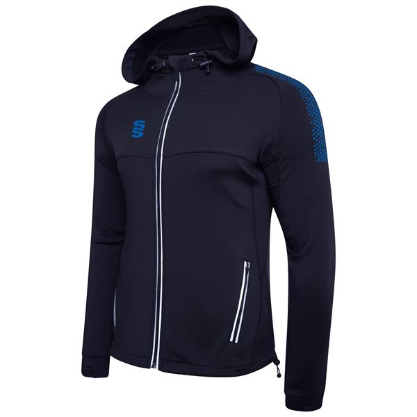 Image sur Dual Full Zip Hoody - Navy/Royal