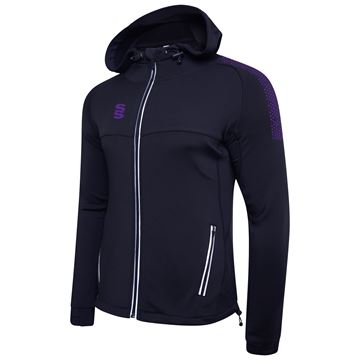 Picture of Dual Full Zip Hoody - Navy/Purple