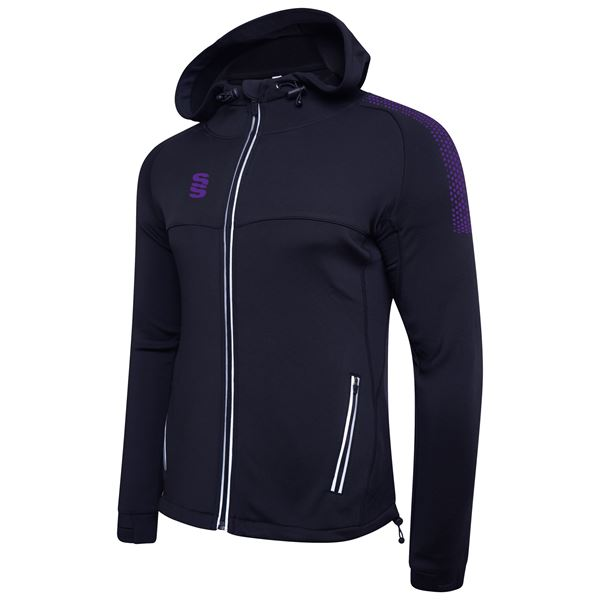 Image sur Dual Full Zip Hoody - Navy/Purple