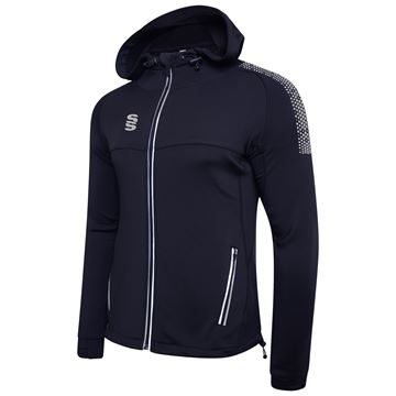 Picture of Dual Full Zip Hoody - Navy/Silver