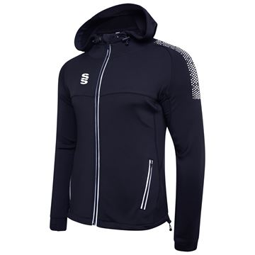 Picture of Dual Full Zip Hoody - Navy/White