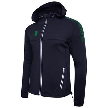 Picture of Dual Full Zip Hoody - Navy/Bottle